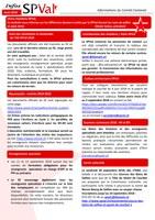 Bulletin infos SPVal d'août 2018