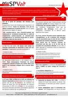 Bulletin infos SPVal d'avril 2016