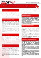 Bulletin infos SPVal de mai 2017