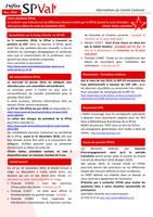 Bulletin infos SPVal de novembre 2018