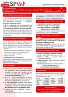 Bulletin infos SPVal de septembre 2018