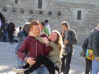 3. Mathieu et Jenny à Guimaraes, la première capitale du Portugal