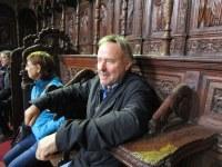 14 Charles André en posture de chanoine à Alta Mura