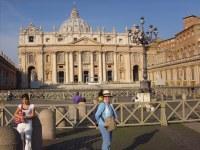 Façade ouest au Vatican