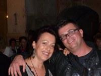 Adrienne et Philippe à la réception