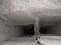 Les araignée ont pris place dans les tubulis qui réchauffaient les parois verticales du bassin..JPG